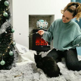 Női kötött oversize pulóver